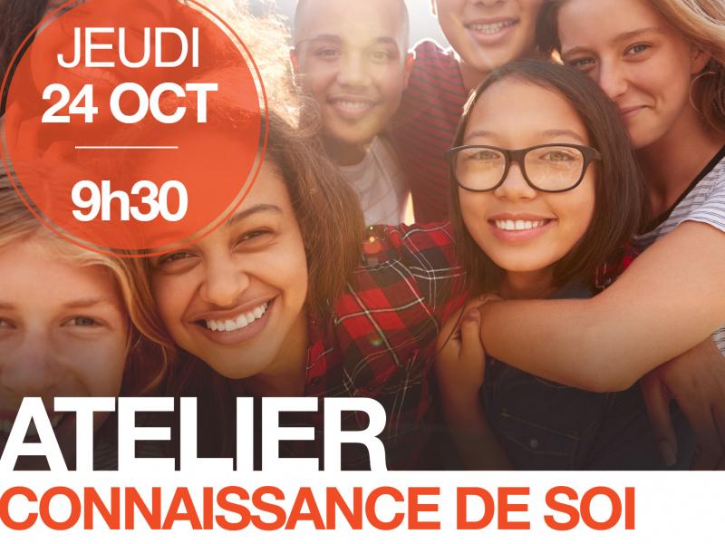 Atelier Connaissance De Soi Ados 15-18 Ans