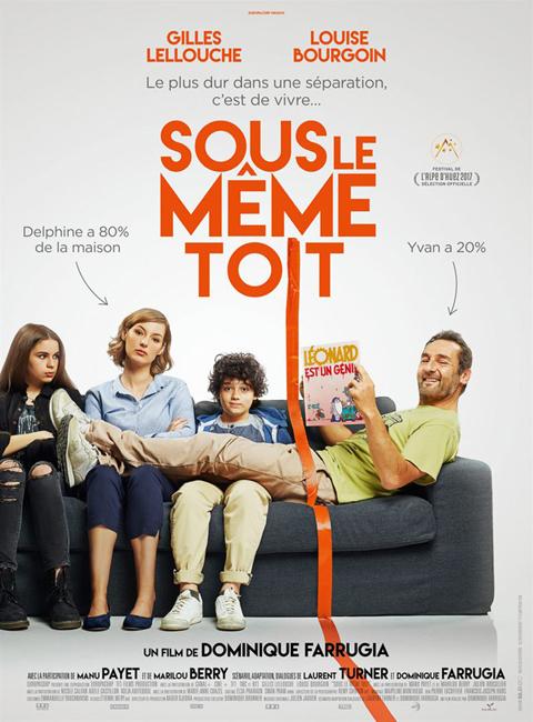 """""""Sous le même toit"""" film réalisé par Dominique Farrugia"""