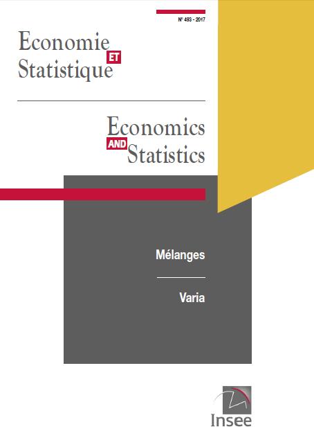 """""""Economie et Statistique"""" n°493 est parue le 5 juillet 2017"""