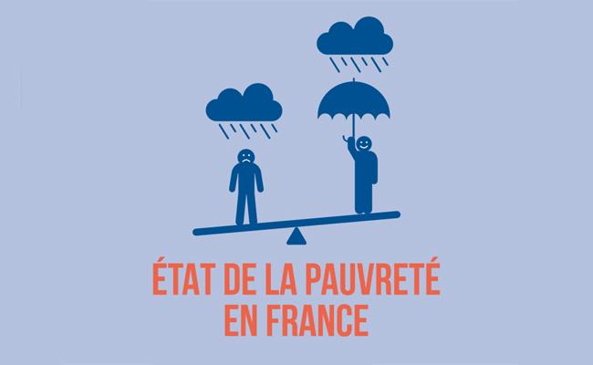 """Rapport statistique annuel """"État de la pauvreté en France 2018"""" publié par le Secours Catholique-Caritas France"""