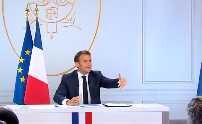 conférence de presse d'E.Macron sur les conclusions du grand débat national