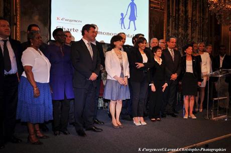 Signature de la charte de la monoparentalité en entreprise