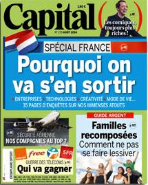 Capital août 2014