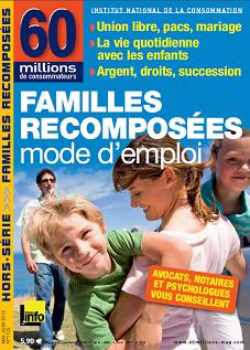 Familles recomposées 60 millions