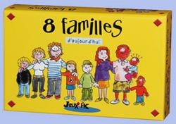 Jeu des 8 familles