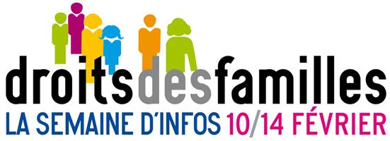 Semaine d'Information sur les Droits des Familles aura lieu du 10 au 14 février 2014