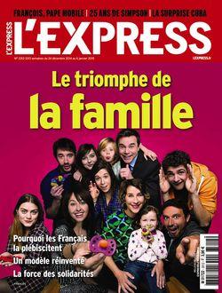 L'Express du 24 décembre 2014, Le triomphe de la famille