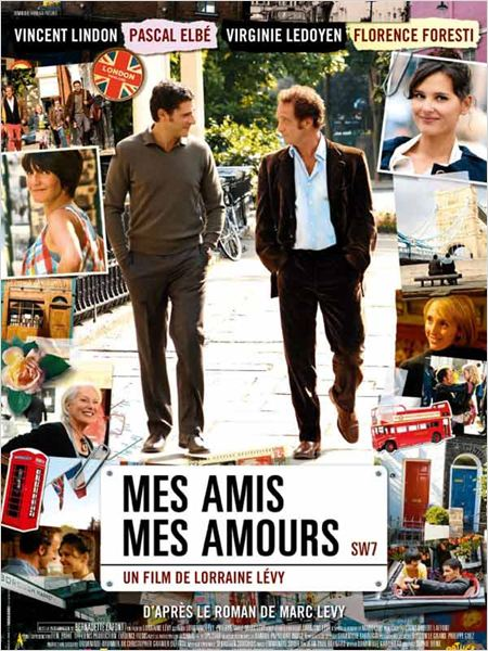 Mes amis, mes amours, film