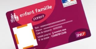 La carte Enfant Famille supprimée par l'Etat