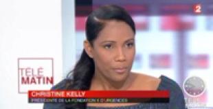 Christine Kelly invitée des 4 Vérités sur France 2 le 15 février 2013