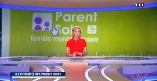 Parent-solo.fr au JT de TF1 du 29 mai 2012