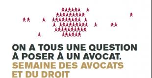 Semaine des Avocats et du Droit du 21 au 23 novembre 2011