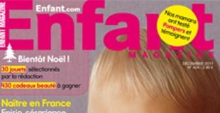 Enfant Magazine parle des mamans solos (déc. 2011)