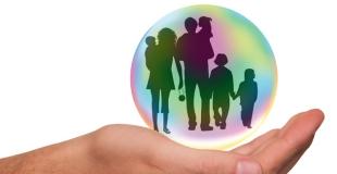 9 % des enfants mineurs vivent dans une famille recomposée