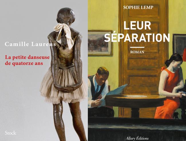La petite danseuse de quatorze ans de Camille Laurens et Leur séparation de Sophie Lemp