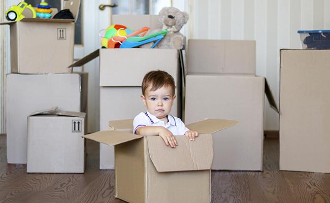 déménagement du parent qui a la résidence habituelle de l'enfant