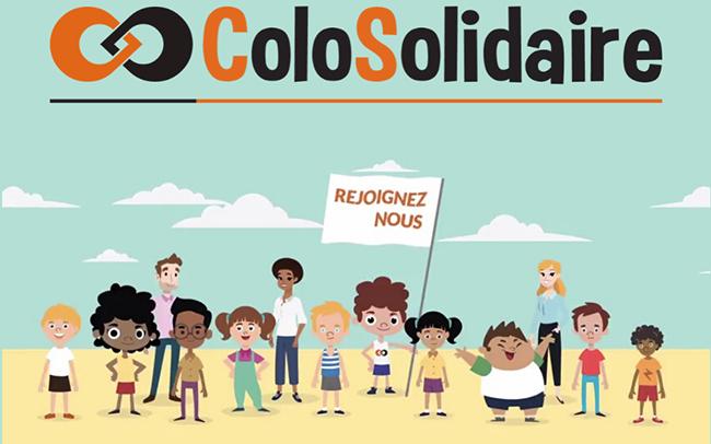 colosolidaire, des colonies de vacances à tarif solidaire