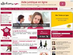 Elledivorce.com - Le site des femmes divorcées