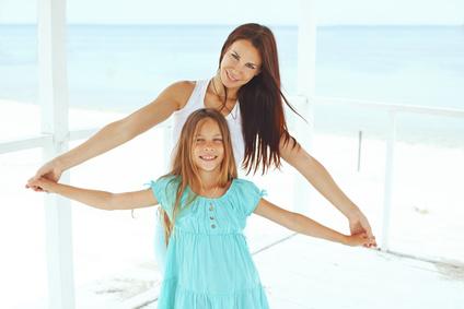Vacances en famille monoparentale
