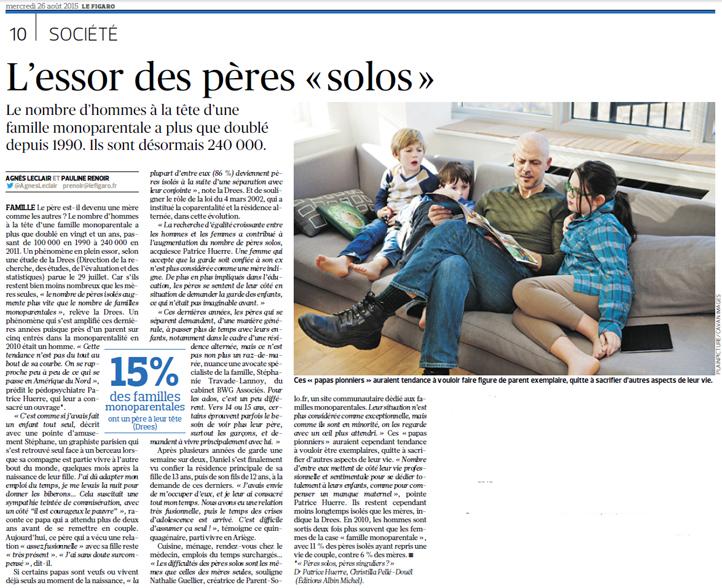Le Figaro du 26 aout 2015