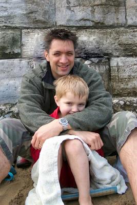 Fils et son père