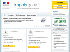 Le site de l'administration fiscale et des impôts