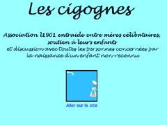 """Association """"Les Cigognes"""", entraide entre mères célibataires"""