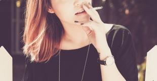 Les ados et la première cigarette
