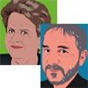 Claire Brisset et Gérard Poussin, livre d'entretiens Pour ou contre la garde alternée ?