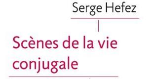 Scènes de la vie conjugale de Serge HEFEZ