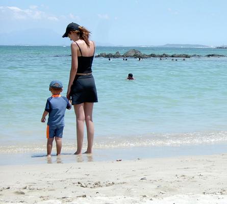 Vacances des familles monoparentales