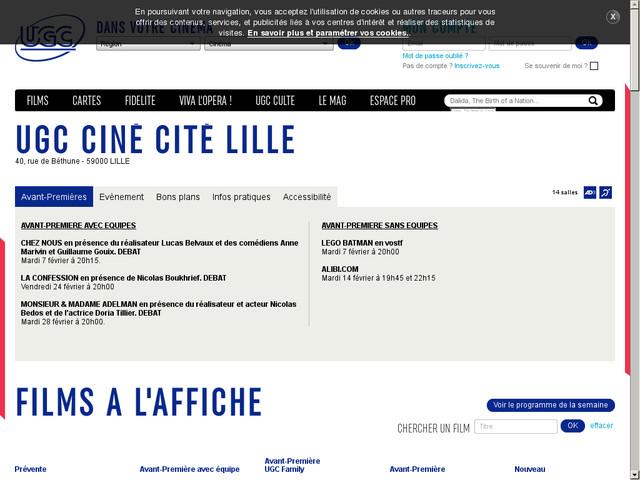 Ciné L'ours paddington à Lille