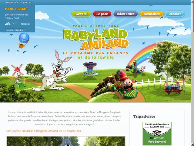 Parc Babyland à St Pierre du Perray