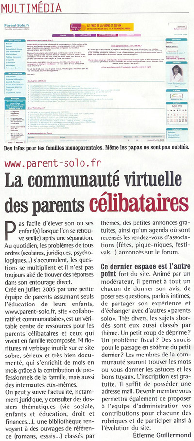 Article de la FCPE